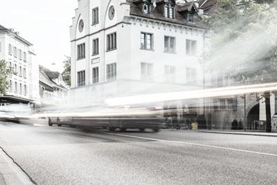 Elektromobilität Zug - Individualverkehr klein